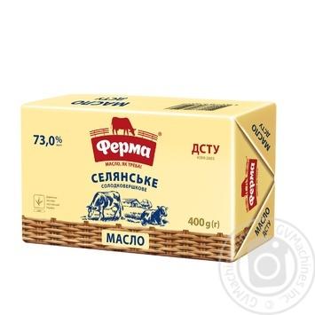 Ferma Sweet Cream Butter 73% 400g - buy, prices for MegaMarket - image 1