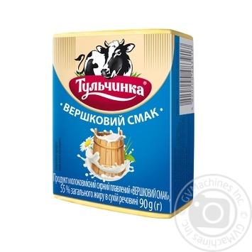 Продукт сырные плавленый Тульчинка сливочный 90г - купить, цены на Фуршет - фото 1