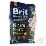 Корм Brit Premium Adult M для собак средних пород 3кг