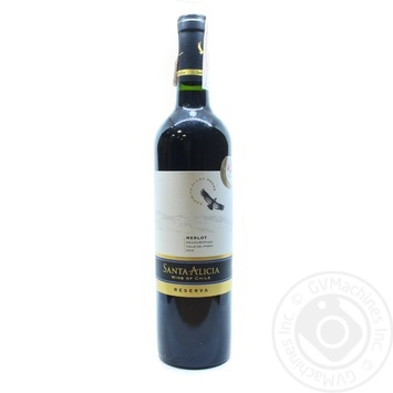 Santa Alicia Reserva Merlot Valle del Maipo red dry wine 13,5% 0,75l - buy, prices for Novus - image 1