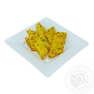 Печиво Сирне з тміном - купити, ціни на МегаМаркет - фото 1