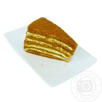 Торт медовий Казка - купити, ціни на МегаМаркет - фото 1