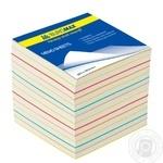 Блок паперу Buromax для заміток 90Х90Х70мм