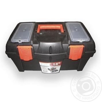 Ящик Prosperplast N18 для хранения инструментов 2 органайзера