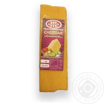 Сыр Mlekovita Чеддер - купить, цены на Метро - фото 1