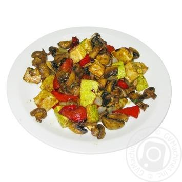 Кабачки з грибами - купити, ціни на МегаМаркет - фото 1