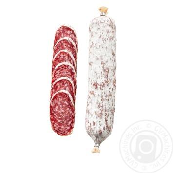 Колбаса Салями Милано Глобино сыровяленая высший сорт - купить, цены на МегаМаркет - фото 1
