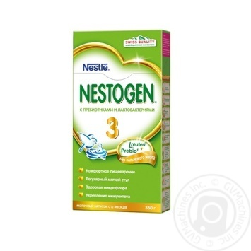 Смесь молочная Neastle Nestogen 3 сухая с пребиотиками для детей с 10 месяцев 350г - купить, цены на Novus - фото 2