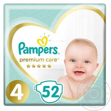 Подгузники Pampers Premium Maxi 4 8-14кг 52шт
