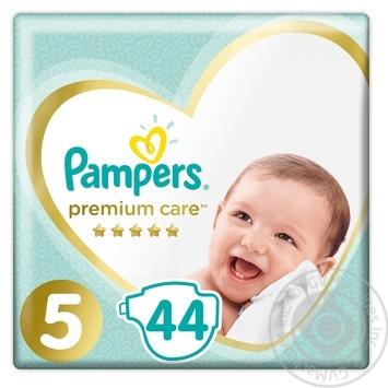 Подгузники Pampers Premium Care 5 Junior 11-16кг 44шт - купить, цены на Фуршет - фото 1