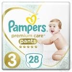 Подгузники-трусики Pampers Premium Care Pants 3 Midi 6-11кг 28шт