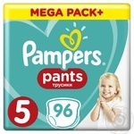 Підгузки-трусики Pampers Pants 5 Junior 12-17кг 96шт