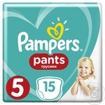 Pampers Pants 5 Junior 12-17kg 15pcs