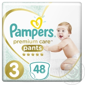 Трусики Pampers Premium Care 3 Midi 6-11кг 48шт