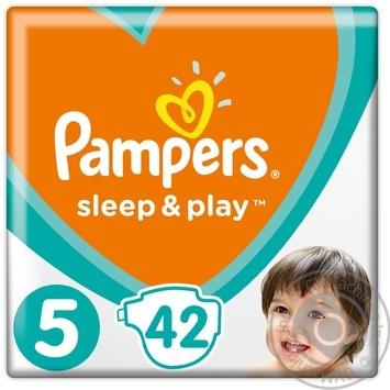 Пiдгузники Pampers Sleep&Play 5 Junior 11-16кг 42шт