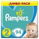 Pampers New Baby 2 diapers 4-8kg 94pcs