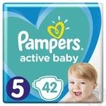 Підгузки Pampers Active Baby 5 11-16кг 42шт