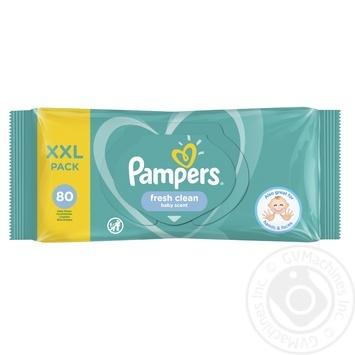 Салфетки влажные Pampers Fresh Clean 80шт