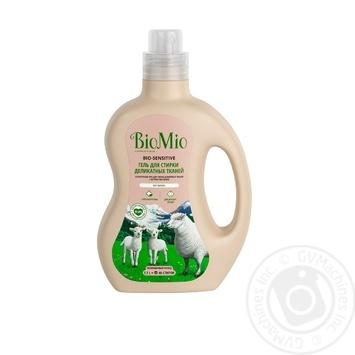 Средство для стирки деликатных тканей BioMio с экстрактом хлопка 1,5л