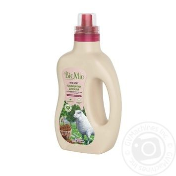 Кондиционер для белья BioMio с эфирным маслом корицы и экстрактом хлопка 1л