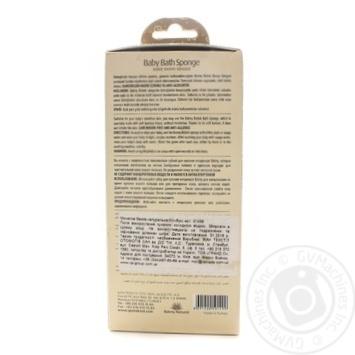 Губка банна бамбукова дитяча Balmy 01499 - купить, цены на Novus - фото 2