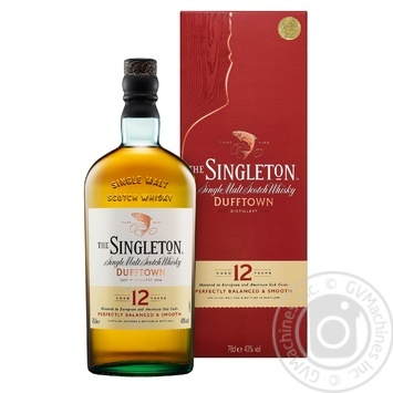 The Singleton Of Dufftown Whisky 12 y.o. 40% 0,7l - buy, prices for Novus - image 1