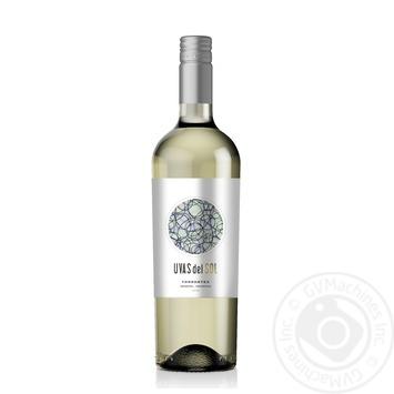 Вино Uvas del Sol Torrontes белое сухое 13,5% 0,75л