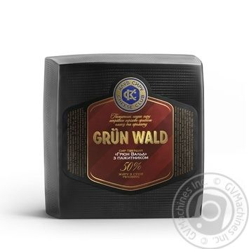 Кlub Syru Grun Wald сheese 50% - buy, prices for MegaMarket - image 1