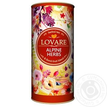Чай Lovare Альпійські трави 80г - купити, ціни на Ашан - фото 1