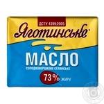 Масло Яготинское Селянское сладкосливочное 73% 200г