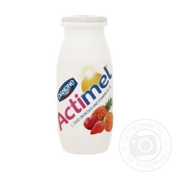 Продукт кисломолочный Danone Actimel мультифрукт 1,5% 100г - купить, цены на Ашан - фото 2