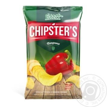 Flint Chipster's Paprika Potato Chips - buy, prices for Novus - photo 1