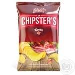 Чипсы Flint Chipster's картофельные со вкусом бекона 130г