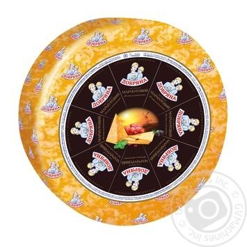 Сыр Добряна Мраморный твердый 50%