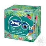Серветки косметичні Deluxe Aroma Col Zewa 60шт