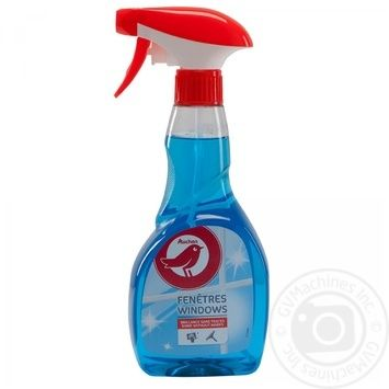 Средство Ашан для мытья окон и стеклянных поверхностей 500мл - купить, цены на Ашан - фото 4