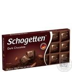 Шоколад Schogеtten темный 100г - купить, цены на Novus - фото 1