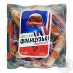 Сосиски Салтівський МК Французск из мяса птицы в/с кг