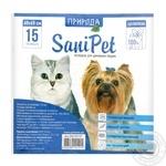 Пеленка Природа SaniPet для животных 60х60см 1шт