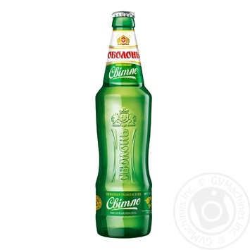 Пиво Оболонь светлое 0,5л