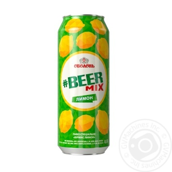 Obolon Beer Mix Lemon special beer 0,5l can