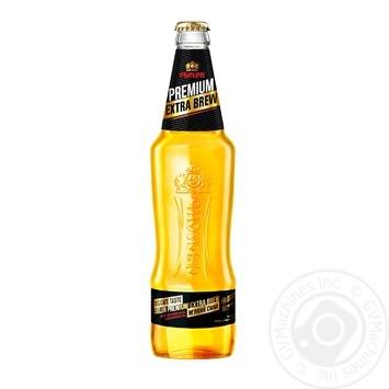Пиво Оболонь Premium Extra Brew светлое 4,6% 0,5л - купить, цены на Фуршет - фото 1