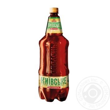Пиво Оболонь Киевское Розливное светлое 3,8% 1,95л