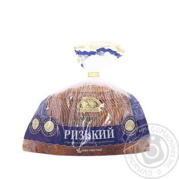 Хлеб Царь Хлеб Рижский разрезанный пополам нарезанный упакован 400г - купить, цены на Фуршет - фото 1