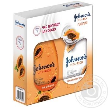 Набор Johnson's Body Care Vita Rich Папайя - купить, цены на Novus - фото 2