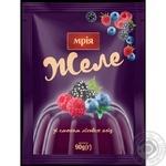 Желе Мрия лесные ягоды 90г - купить, цены на Novus - фото 1