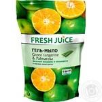 Гель-мыло Fresh Juice Green tangerine & Palmarosa 460мл