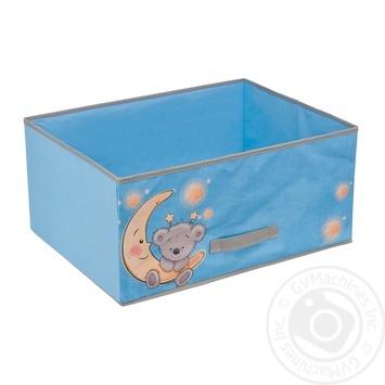 Короб для хранения Handy Home Медвежонок 54х40х25см - купити, ціни на УльтраМаркет - фото 1