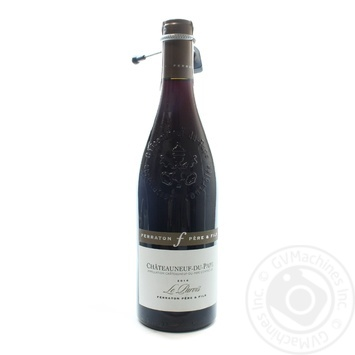 Ferraton Pere & Fils Le Parvis Chateauneuf-du-Pape red dry wine 14,5% 0,75l - buy, prices for Novus - image 1