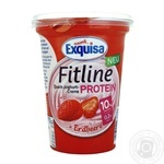 Exquisa Fitline Protein Strawberry Cream Yogurt 10% 400g